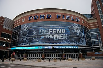 Ford Field - Ford Field in 2015