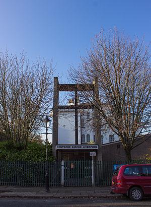 German Church, Liverpool - Image: Deutsche Kirche Liverpool 2014