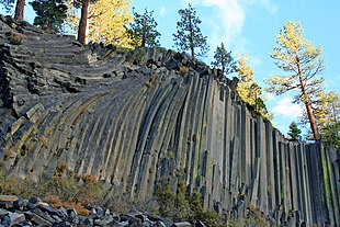 Basalt columns of Devil's Postpile