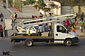 Dhaka North City Corporation Iveco Daily bucket-truck. (32785166325).jpg