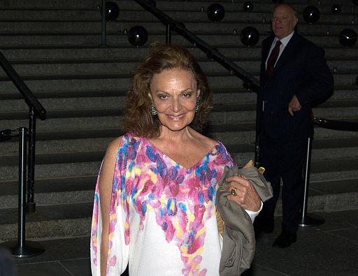 Diane von Furstenberg Barry Dilly Shankbone 2010 NYC