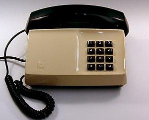 Ericsson Diavox telephone, made for Televerket...