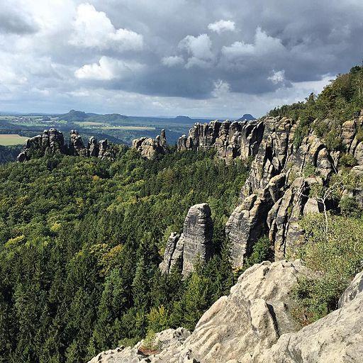 Die Schrammsteine. -freiklettern (21560318182)
