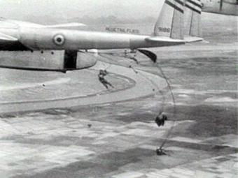 French parachutists at the Battle of Điện Biên Phủ