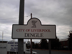 Dingle, Liverpool - Sign