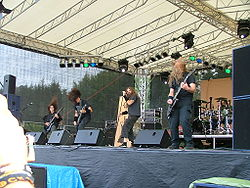 La band dal vivo al Rock the Lake 2007 di Finkenstein am Faaker See