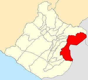Palca District, Tacna - Image: Distrito Palca