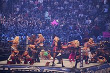 Diva Battle Royal at WrestleMania 25 2.jpg