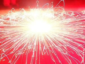 English: Diwali Chakra in Displaly