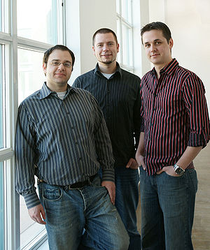 Digital Journal - Executives at Digital Journal: David Silverberg, Alex Chumak and Chris Hogg.