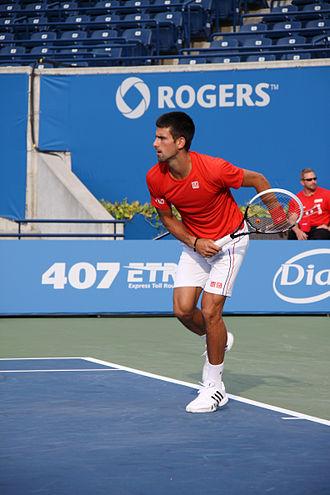 2012 ATP World Tour Finals - Novak Djokovic won his third Australian Open