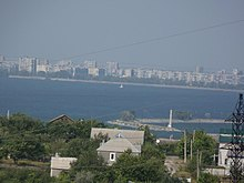 Dniprodzerzhynsk view on Dnipro left bank.jpg