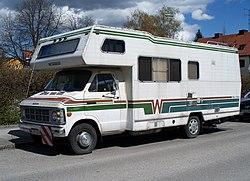 Dodge-based recreational vehicle in Munich.JPG