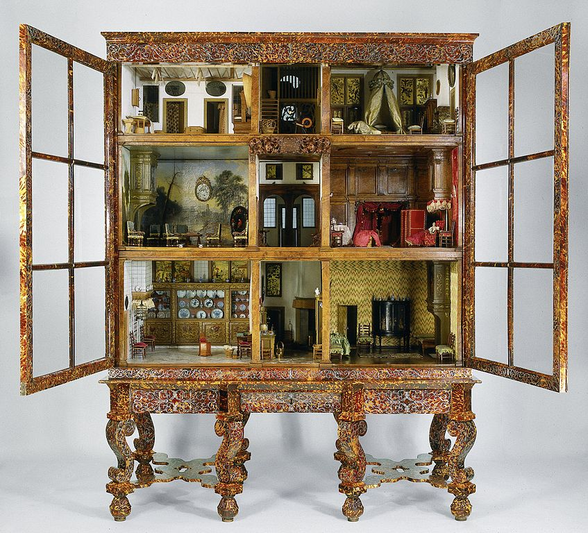 The Oortmann Doll house at the Rijksmuseum
