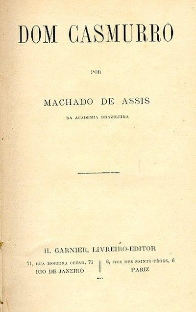 Picture of a book: Dom Casmurro