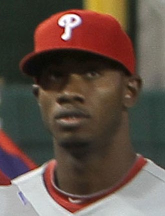 Domonic Brown - Brown during a game in 2010