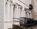 Doorways and railings, Belfast - geograph.org.uk - 1715625.jpg