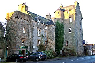 Clan Sutherland - Dornoch Castle, also known as Dornoch Palace, held by the Earls of Sutherland in the 16th century, it is now a hotel.