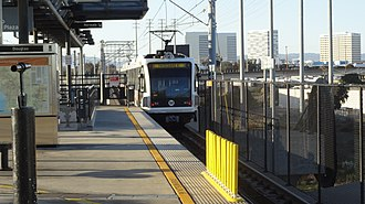 Douglas station (Los Angeles Metro) - Image: Douglas Metro Green Line Station 11