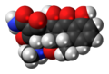 Doxycycline 3D spacefill.png