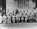 Dr Babasaheb Ambedkar in a group photograph with the leaders and activists of the 'All India Untouchable Women's Conference' held at Nagpur in 1942.jpg