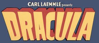 Dracula (1931) Logo