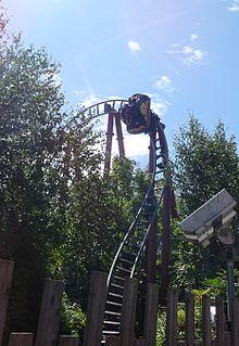 <i>Dragons Fury</i> (roller coaster) amusement ride
