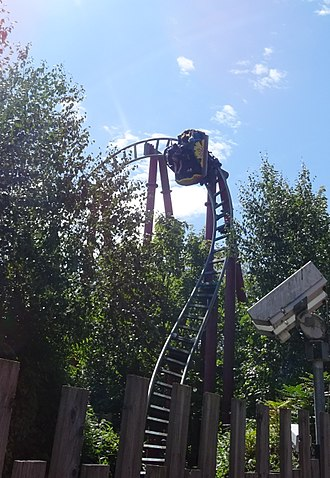 Dragon's Fury (roller coaster) - Image: Dragon's Fury 2