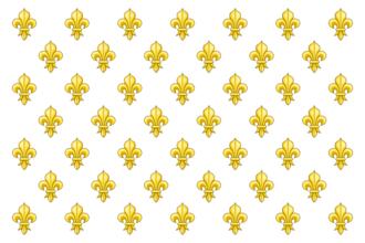 Armée des Émigrés - Image: Drapeau du royaume de France