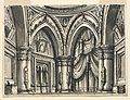 Drawing, Stage Design, Interior of High Gothic Hall with Ogival Arches, 1828 (CH 18359185).jpg
