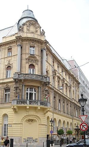 Danube Palace - Image: Duna palota