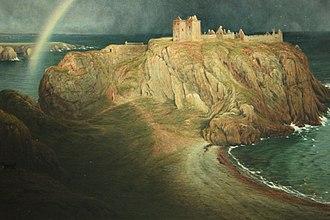 Dunnottar Castle - Dunnottar Castle by Waller Hugh Paton, 1867