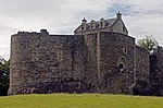 Dunstaffnage castle, in Scotland (United Kingdom).