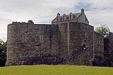 Photo of a stone castle