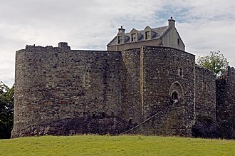 John Gallda MacDougall - Dunstaffnage Castle, a fortress built, held, and lost by John Gallda's MacDougall predecessors appears to have been one of several castles regained by John Gallda as a consequence of the restoration of the family's former lands in Lorne.