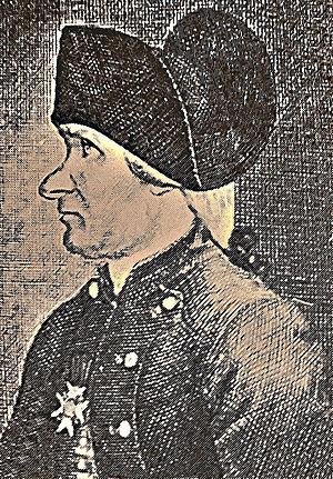 Jean-André van der Mersch - Portrait of van der Mersch