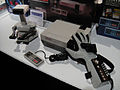 E3 2011 - Video Game Museum - NES, Nintendo Robot and Power Glove (5822119923).jpg