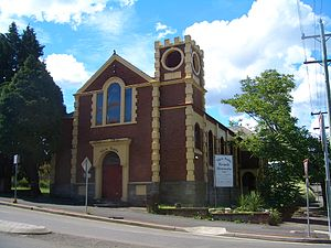 Deconsecration - A church building in Katoomba, Australia, converted to a restaurant