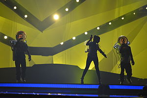 Montenegro in the Eurovision Song Contest 2013 - Who See at the first semi-final dress rehearsal in Malmö
