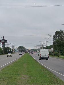 Палдиское шоссе между Таллинским зоопарком и торговым центром Рокка-аль-Маре