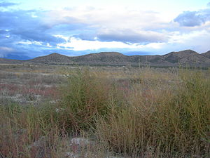 Eagle Mountain, Utah - Undeveloped land near the City Center.
