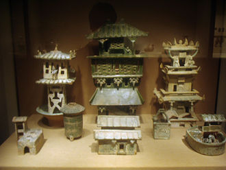 Chao Cuo - Image: Earthenware architecture models, Eastern Han Dynasty, 1
