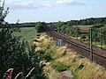 East Coast Main Line near Bishop Wood - geograph.org.uk - 112299.jpg