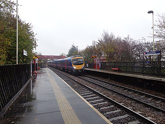 East Garforth railway station - Image: East Garforth railway station (8th November 2014) 006