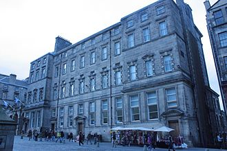 Ebenezer James MacRae - One of Macrae's wings on Edinburgh City Chambers