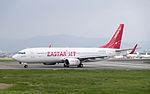 Eastar Jet B737-86J HL8264 Departing from Taipei Songshan Airport 20150101b.jpg