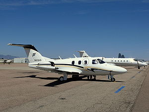 Eclipse 500 - Parked at Colorado Springs Airport