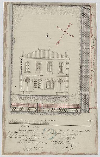 File:Ecole mixte mairie Jacou - Archives départementales de l'Hérault - FRAD034 2O 120 5 3 00001.jpg