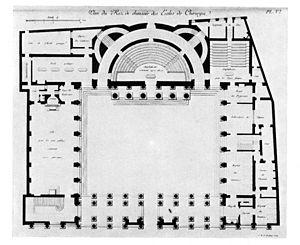 École de Chirurgie - Floor Plan of Complex