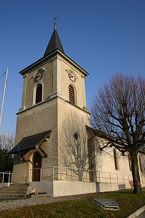 Écublens, Vaud - Church of Écublens